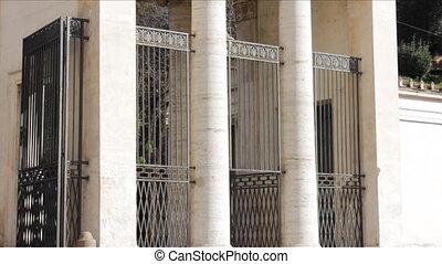 Detail of Villa Borghese Entrance.