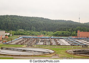 sewage water treatment facility