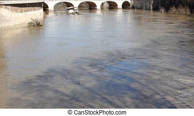 Tiber River After Flood