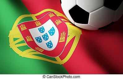 ポルトガル語, 旗, フットボール