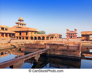 India. The thrown city of Fatehpur Sikri