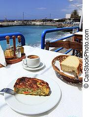 boureki,  Cretan,  taverna