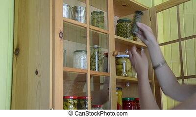 two jar caper garlic