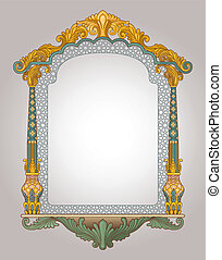 Decorative Frame - Vector illustration of decorative frame