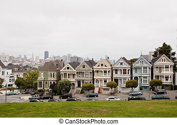 Painted Ladies is a term used for Victorian and Edwardian...