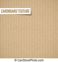 Cardboard texture - Illustration of realistic carton...