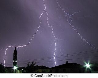 lightning 1 - a big lightning in the dark