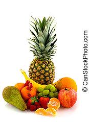 Still life of fresh ripe fruit - still life of fresh healthy...