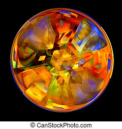 Colorful Crystal Ball