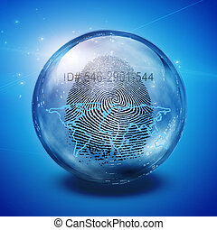 Earth fingerprint Id