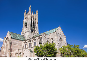 St Johns gothic architecture - The beautiful exterior of the...