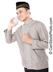 モビール, 電話,  muslim, 人, 呼出し