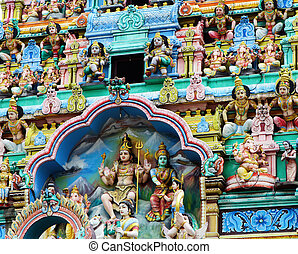 Sri Mariamman Temple in Chinatown, Singapore