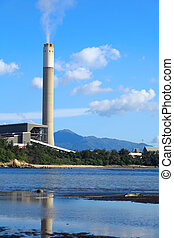 Coal fired power station in Hong Kong