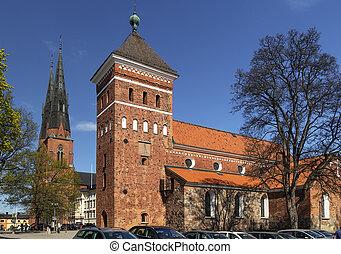 Church Helga Trefaldighets Kyrka, Uppsala - Church Helga...