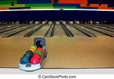 bowling alley photographed in florida