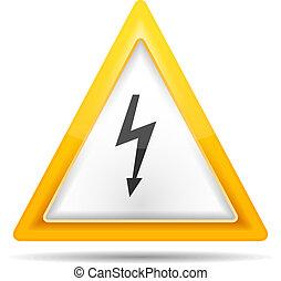 High Voltage Sign