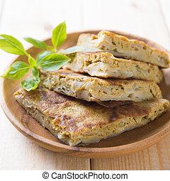 Ramadhan food - Malaysian food murtabak usually sold in...