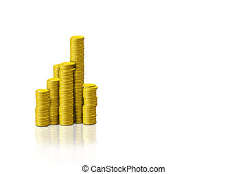 stack of golden coins