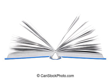 Open Books - Open book isolated on white background