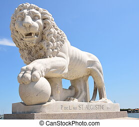 Bridge of Lions Monument - Historic Bridge of Lions monument...
