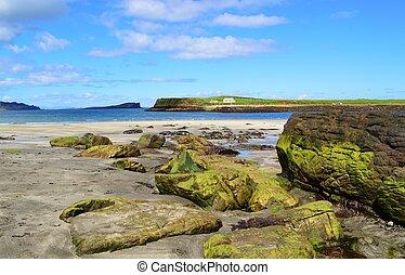 A beach on the Isle of Skye.