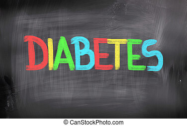 diabetes, concepto