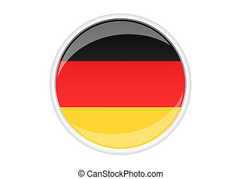 Germany Sticker - Germany stickerbutton for design