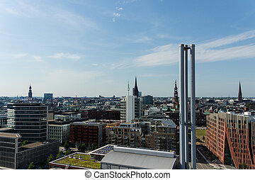 Uuml;berseequartier - The Überseequartier in Hamburg Hafen...