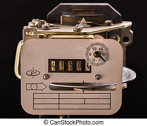 old appliance electricity metering (all logos, inscriptions...