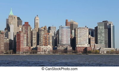 Lower Manhattan, New York City - Lower Manhattan Skyline New...
