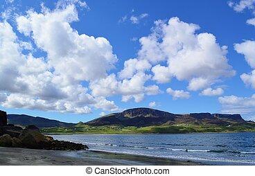 A beach on the Isle of Skye