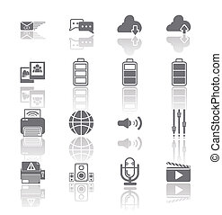 PC Mobile Interface Icon EPS10