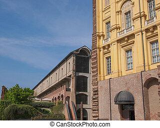 Castello di Rivoli castle near Turin Italy