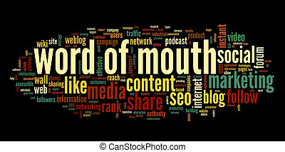 Word of mouth in social media