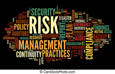 risk and compliance in word tag cloud - Risk and compliance...