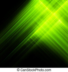 Bright luminescent green surface. EPS 10 vector file...