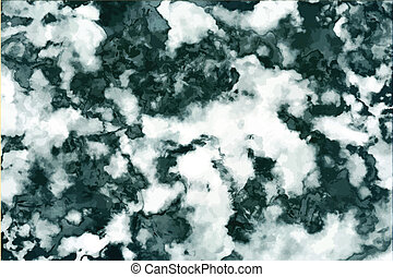 Green marble texture background. vector illustration