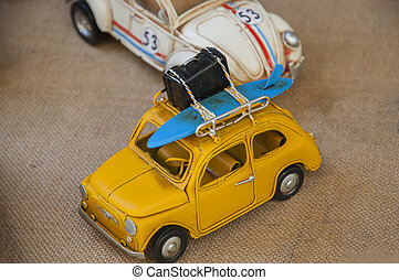 antique toy cars