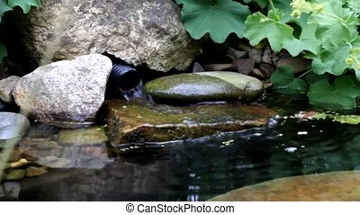 Garden Pond Filter - A garden pond water filtration system
