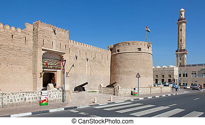 Dubai museum - Historical museum in Dubai, United Arab...