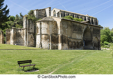 quot;Santo Sepulcroquot; Church in Estella, Navarre Spain -...