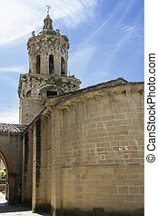 Church of the Crucifix. Puente la Reina, Navarra. Spain. XII...