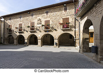 Cirauqui Square Cirauqui, Navarre Spain St James Way