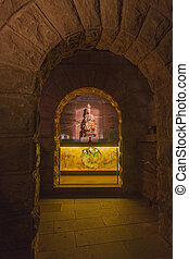 Cave of the Monastery of Santa Maria la Real de Najera, La...