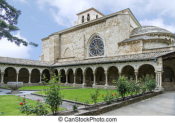 quot;San Pedro de la Ruaquot; Church, Estella, Navarre Spain...