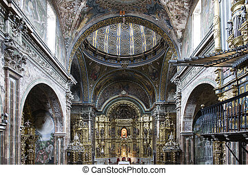 St Maria Church in Los Arcos, Navarre Spain Built between...