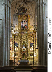 Church of the Monastery of Santa Maria la Real de Najera, La...