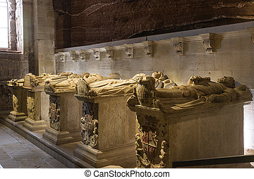 Pantheon of the Kings of Navarre. Monastery of Santa Maria...