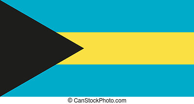 Flag of the Bahamas - National flag of the Bahamas -...